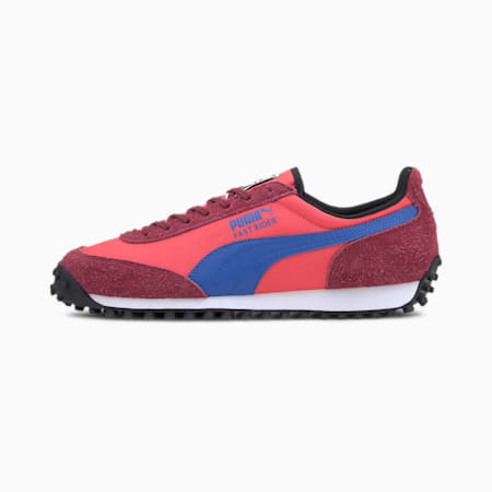 Fast Rider Fury Trainers, Hot Coral-Cordovan, small