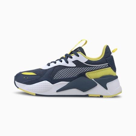 RS-X Collegiate Youth Sneaker, Meadowlark-Dark Denim, small