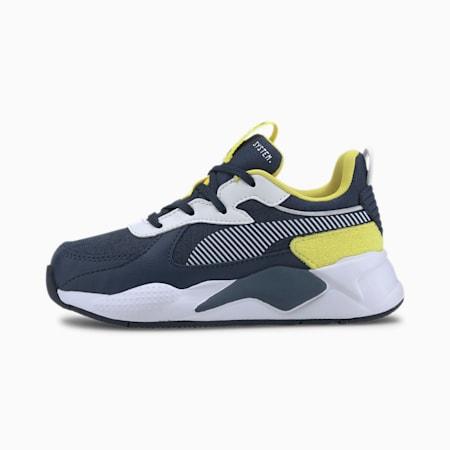 Zapatos RS-X Collegiate para niño, Meadowlark-Dark Denim, pequeño