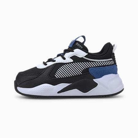 RS-X Collegiate Toddler Shoes, Puma Black-Bright Cobalt, small