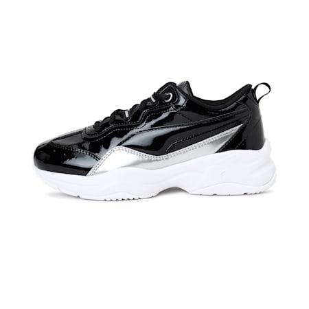 Cilia Patent Jr, Puma Black-Puma Silver-White, small-IND