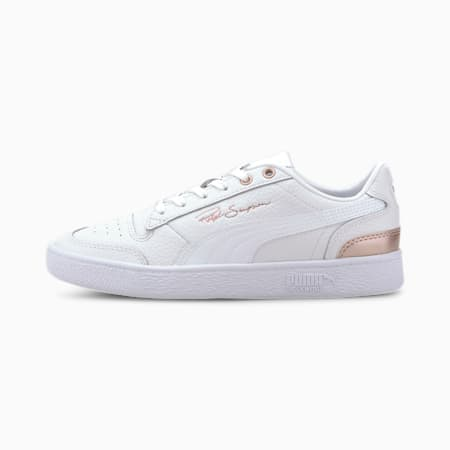 Basket Ralph Sampson Lo Metal pour femme, Puma White-Rosewater, small