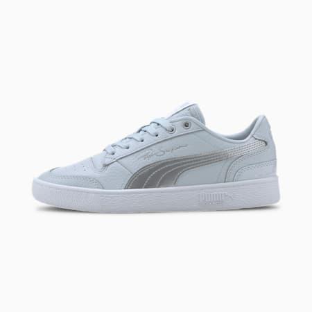 Zapatos deportivos Ralph Sampson Lo Metal para mujer, Plein Air-Metallic Silver, pequeño