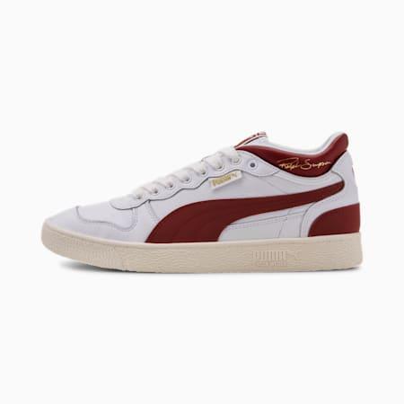 Zapatos deportivos de media caña Ralph Sampson OG para hombre, P Wht-Brnt Ruset-Whispr Wht, pequeño