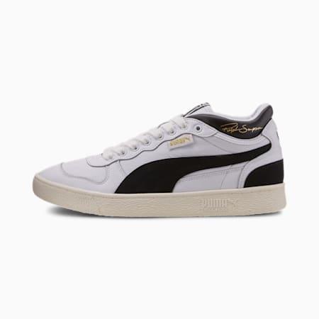 Zapatos deportivos de media caña Ralph Sampson OG para hombre, Puma Wht-Puma Blk-Whispr Wht, pequeño