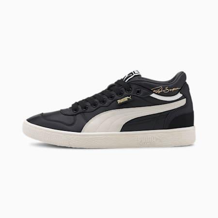 Zapatos deportivos de media caña Ralph Sampson OG para hombre, Puma Black-Whisper White, pequeño