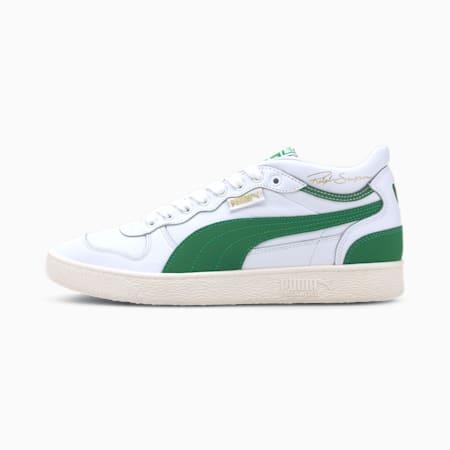 Zapatos deportivos de media caña Ralph Sampson OG para hombre, P Wht-Amazon Green-Whspr Wht, pequeño
