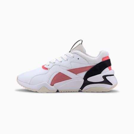 Nova Pop Women's Shoes, Puma White-Bubblegum, small-IND