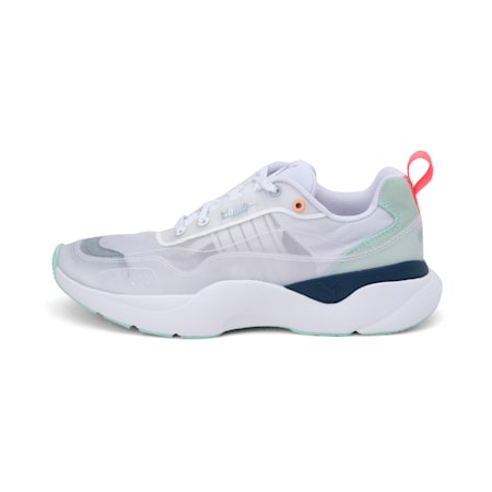 Lia Sheer Women's Shoes, Puma White, small-IND