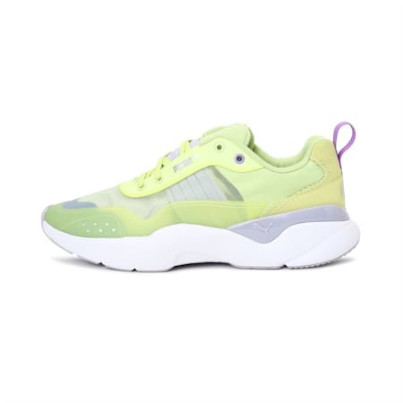 Lia Sheer Women's Shoes, Sunny Lime, small-IND