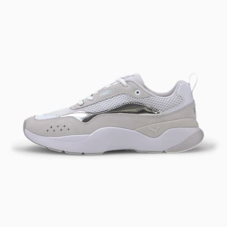 Lia Pop Women's Shoes, Puma White, small-IND