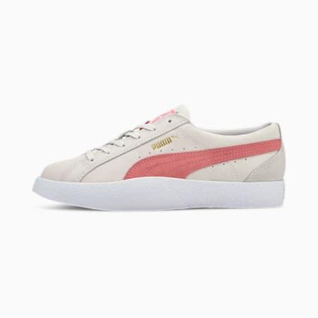 Love Suede Women's Trainers, Vaporous Gray-Luminous Peach, small-GBR