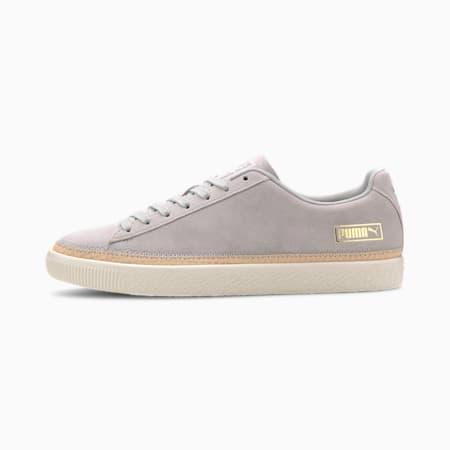 Suede Trim DLX Sneaker, High Rise-Vachetta-Whisper, small