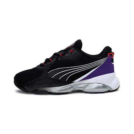 CELL Dome Galaxy Trainers, Puma Black-Prism Violet, small-IND