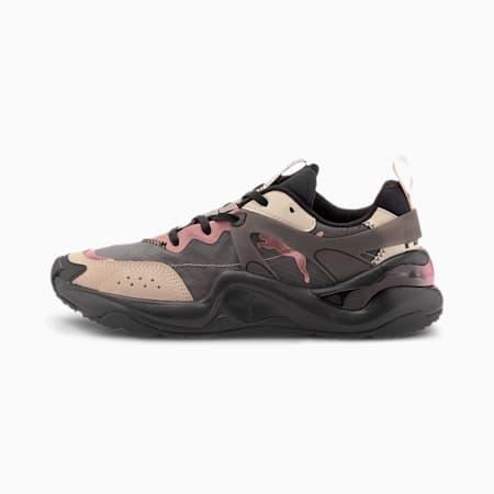Rise Damen Sneaker, Puma Black-Rosewater, small