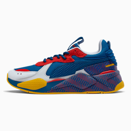 RS-X Subvert Men's Sneakers, White-Galaxy Blue-Hi Rik Red, small