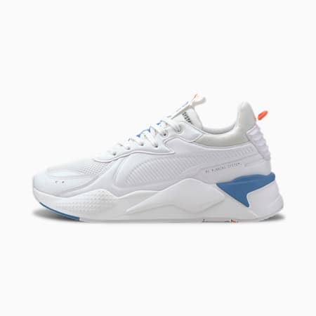 RS-X Master Men's Sneakers, Puma White-Palace Blue, small