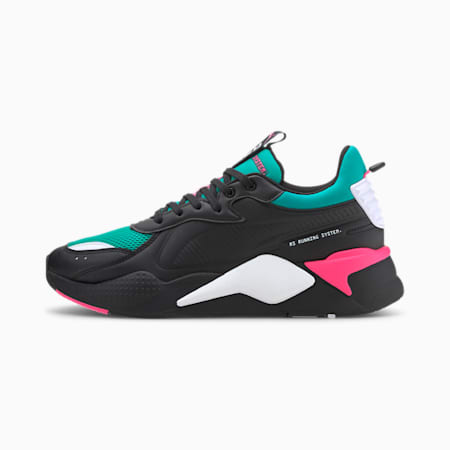 Basket RS-X Master, Puma Black-Spectra Green, small