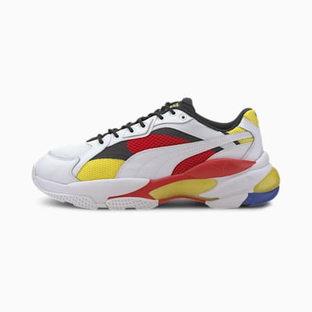 LQDCELL Epsilon Trainers, Puma White-High Risk Red, small