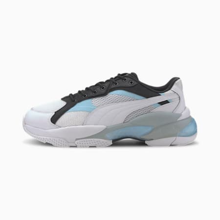 LQDCELL Epsilon Trainers, Puma White-Puma Black, small