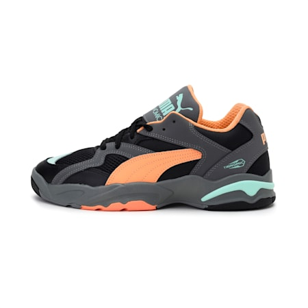 Performer Clay Shoes, Puma Black-Cantaloupe-Mist, small-IND