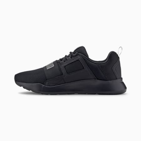Wired Cage Sneakers, Puma Black-CASTLEROCK, small-IND