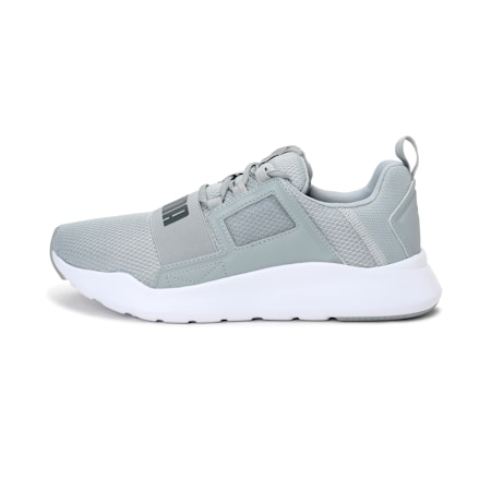 Wired Cage Sneakers, High Rise-CASTLEROCK, small-IND
