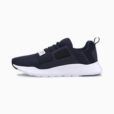 Wired Cage Sneakers, Peacoat-Puma White, small-IND