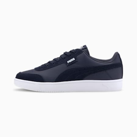 Court Legend Lo Sneakers, Peacoat-Puma White, small-IND
