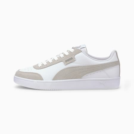 Court Legend Lo Trainers, Puma White-High Rise, small