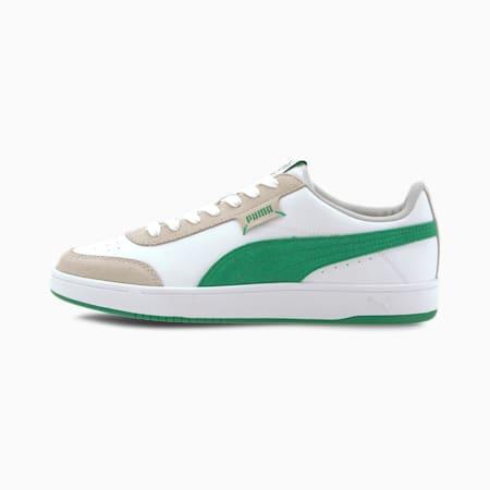 Court Legend Lo Trainers, White-Amazon Green-Gray, small-GBR