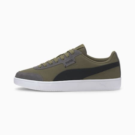 Court Legend Lo CV Sneakers, Burnt Olive-Black-CASTLEROCK, small-IND