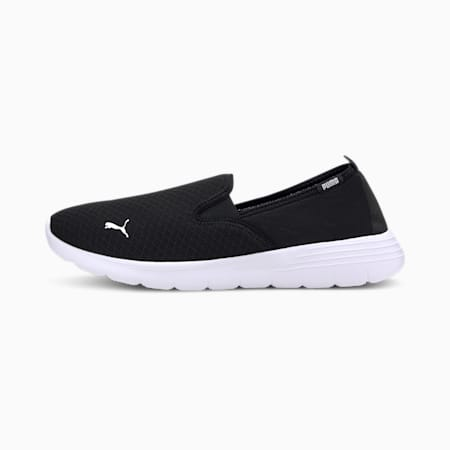 Flex Renew  Slip On Walking Shoes, Puma Black-Puma White, small-IND