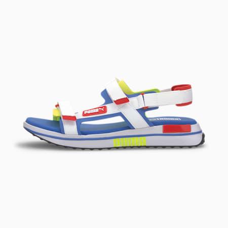 Future Rider Game On Sandals, Dazzling Blue-PW-HRR-YA, small-SEA
