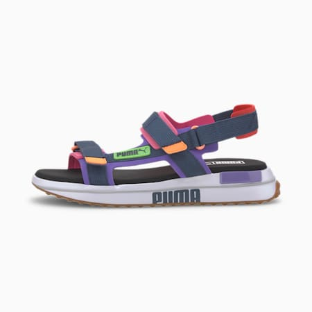 Future Rider Game On Sandals, Luminous Purple-DD-PW, small