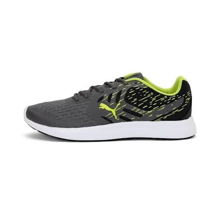 Gamble XT Men's Sneakers, Asphalt-Puma Black-Limepunch, small-IND