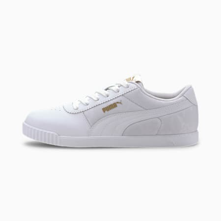 Carina Slim Veil Women's Sneakers, Puma White-Puma White, small