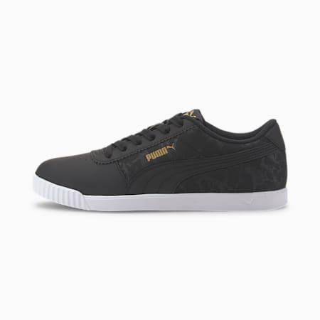 Zapatos deportivosCarina Slim Veil para mujer, Puma Black-Puma Black, pequeño
