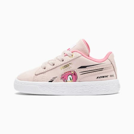PUMA x SONIC Suede Toddler Shoes, Rosewater, small