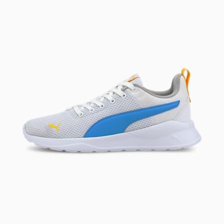 Buty sportowe Anzarun Lite dla młodzieży, White-Dresden Blue-Dandelion, small
