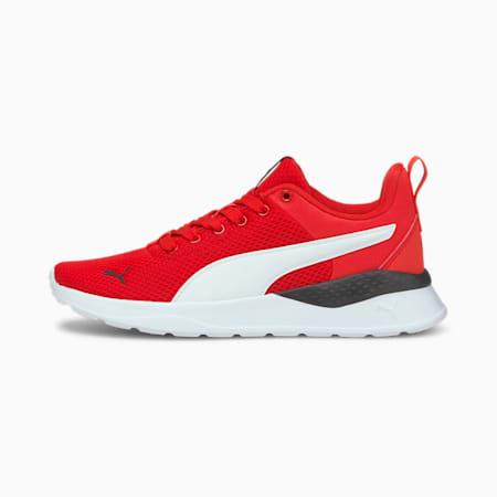 Anzarun Lite Kid's Shoes, Poppy Red-Puma White, small-IND