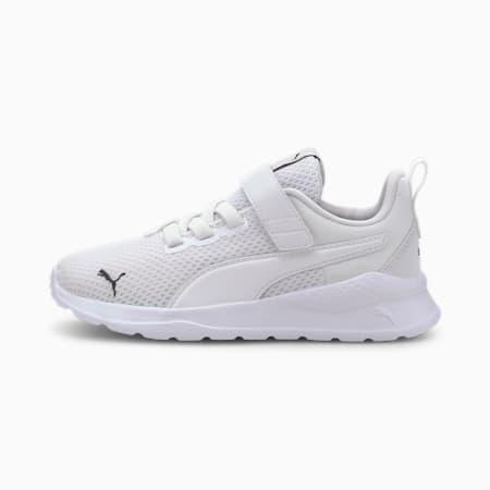 Anzarun Lite Kids Sneaker, Puma White-Puma White, small