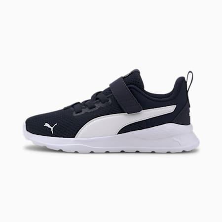 Anzarun Lite Kids Sneaker, Peacoat-Puma White, small