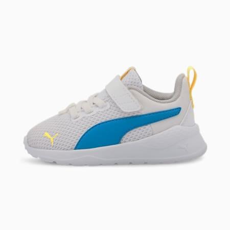 Buty sportowe Anzarun Lite dla małych dzieci, White-Dresden Blue-Dandelion, small