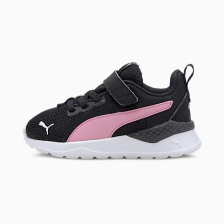 Anzarun Lite sportschoenen voor baby's, Black-Pale Pink-Puma Silver, small