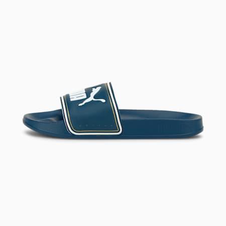 Leadcat FTR Kids' Slides JR, Digi-blue-Puma White, small
