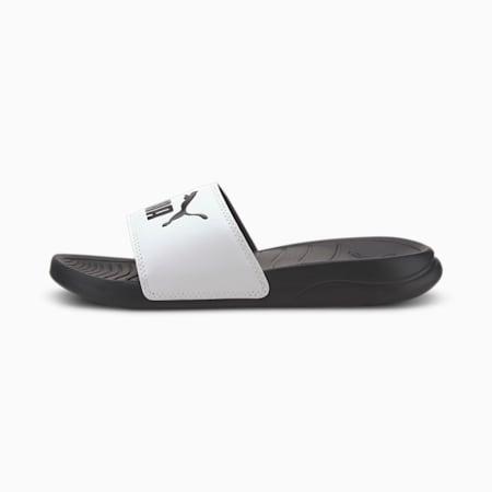 Popcat 20 Youth Sandals, Puma White-Puma Black, small