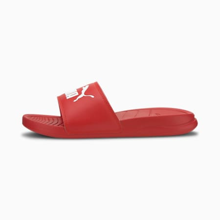Popcat 20 Youth Sandalen, High Risk Red-Puma White, small