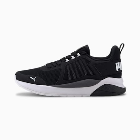 Anzarun Youth Trainers, Puma Black-Puma White, small