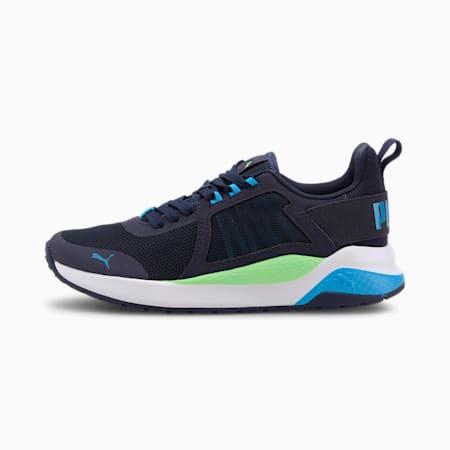 Anzarun Sneakers JR, Peacoat- Blue- Green, small